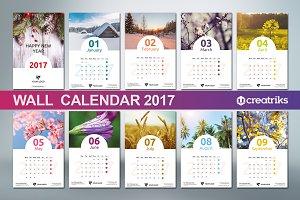 Wall Calendar 2017 - v005