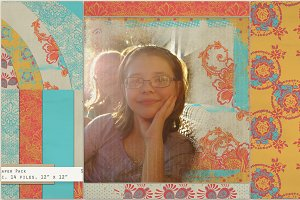 Bohemian Sun:  Gypsy Lace Paper Pack