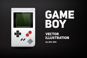 Gameboy | Vector illustration