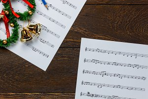 Music note,Christmas decoration