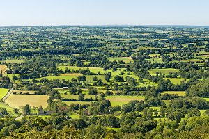 Normandy Landscape Panorama