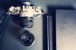 Camera with iPad/Folio