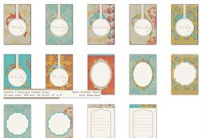 Bohemian Sun Weekday Journal Cards