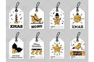 Christmas tags 2