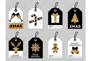 Christmas tags 3