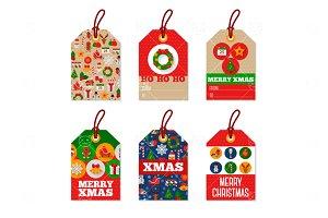Christmas tags 4
