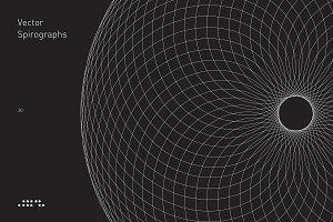 20 Vector Spirographs