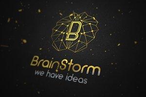 Brain Storm Logo Concept