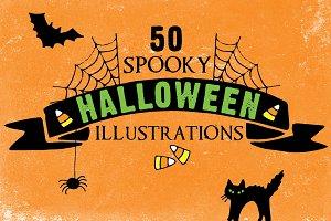 Spooky Halloween Vector Pack