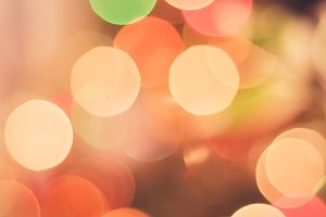 Shiny pastel lights, bokeh light