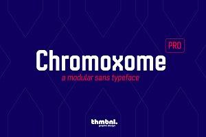 Chromoxome Pro - Typeface