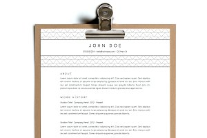 Simple Resume Template | Design 15