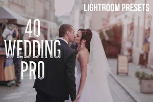 40 Wedding Pro Lightroom Presets
