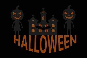 background classic halloween