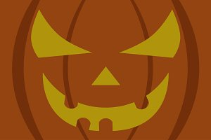 giant pumpkin background halloween
