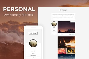 Personal - Personal Tumblr Theme