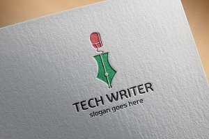 Tech Writer Logo