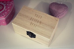 Wood Box Mock-up#1