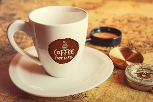 Coffee Cup Mock-up#10