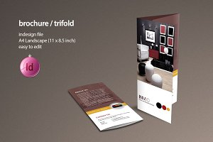 A4 Trifold Brochure