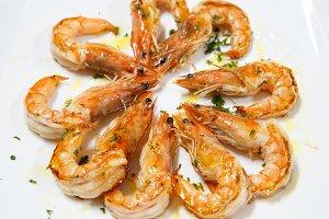 cooked prawn