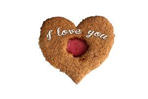 Heart Shape Valentine Cookie