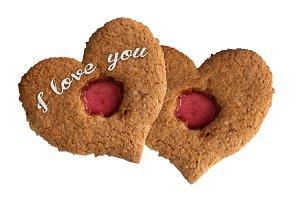 eart Shape Valentine Cookie