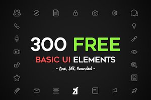 FREE Basic UI elements pack