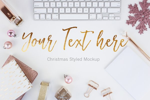 Christmas Styled Stock Photo (3)