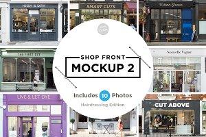 Shop facade mockups 2