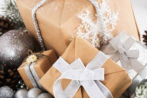 Gift boxes for xmas