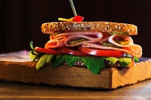 Delicious sanwich