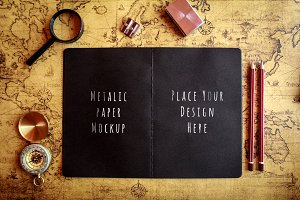 Notebook/Diary Mock-up#11