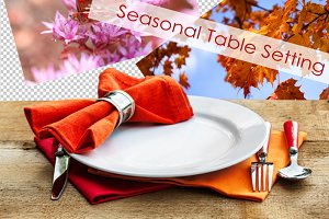 Seasonal Table Setting