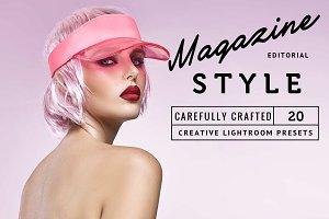 20 Magazine Style Lightroom Presets