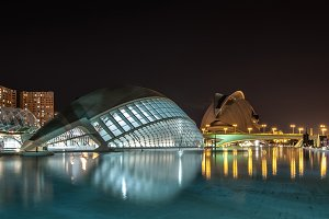 The City of Arts and Sciences.