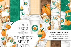 Coffee Paper Pack Pumpkin Spice