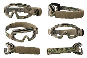 Military goggles, set