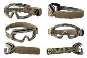 Military goggles, set