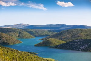 The Krka National park, Croatia