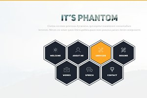 Phantom-Resume/CV/Portfolio Template