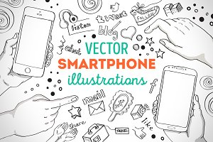 Smartphone Illustrations