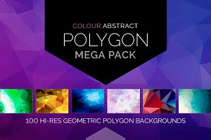 Colour Polygon Mega Pack