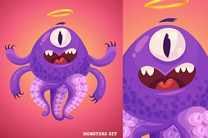 Cute monster #1
