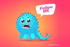 Cute monster #4