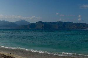 Gili Air and Lombok view