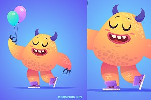 Cute monster #5