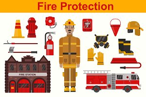 Fireman and firefighter protection
