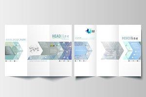 Tri-fold brochures v.19