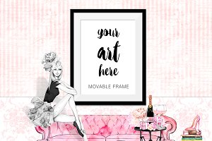 Movable Frame Mockup